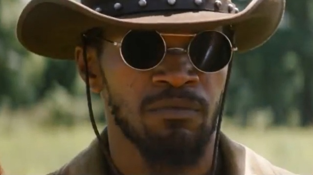 Jamie Foxx gives a great performance in the title role of Django Unchained.