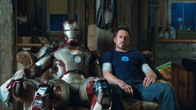 """The Marvel Cinematic Universe continues, as Tony Stark opens up """"Phase 2""""."""