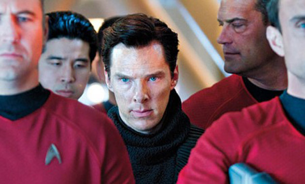 Benedict Cumberbatch plays an intense, threatening role - but he isn't Khan Noonien Singh.