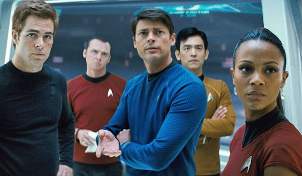 The crew of the Starship Enterprise return for their second rebooted adventure under J.J Abrams.