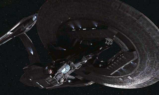 The Vengeance is a personification of the uglier elements within Starfleet, not least Section 31.