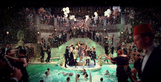 The Great Gatsby invokes Luhrmann's usual symphony of color and spectacle.