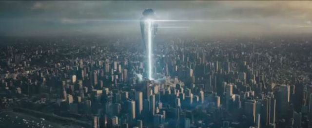 """Man of Steel reaches, and then soars past, the so-called """"carnage threshold"""" in an extended sequence where Metropolis is largely destroyed."""