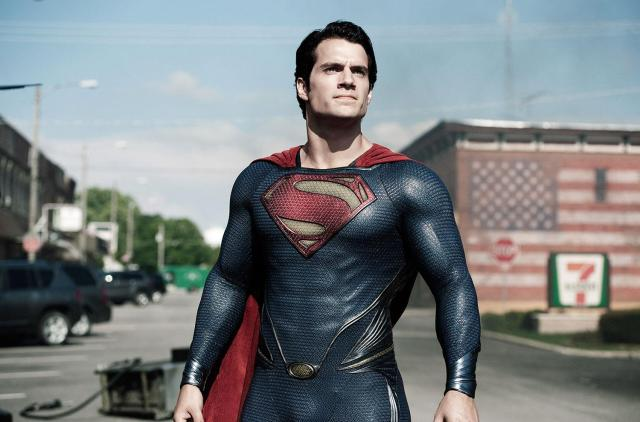 Superman is back in the form of Henry Cavill, in Zach Snyder's bombastic origin story.
