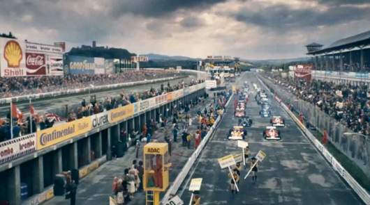 Rush brilliantly illustrates the excitement behind F1, while also being a sports movie that isn't about a sport.