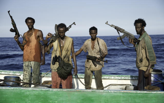 The movie takes a sympathetic look at the issue of Somali piracy, making sure the audience is aware of the lack of choices these young men have.