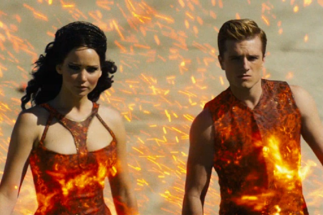 Catching Fire is about revolution and resistance, as more and more people take the lead of Katniss and Peeta is refusing to play by the Capitols rules.