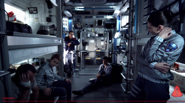 Europa Report's cast, with bland material and limited surrounds, lack the means to create great acting performances.
