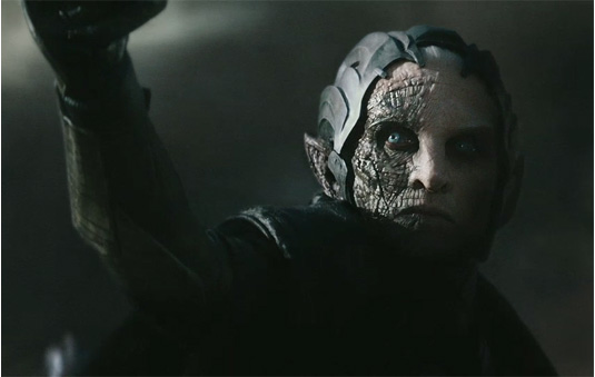 The character of Malekith is disappointingly drab and shallow, with Eccleston underutilised badly.