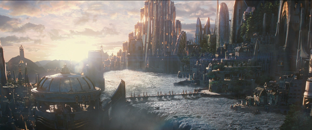 Asgard is a visual feast, expanded and improved since we first saw it.