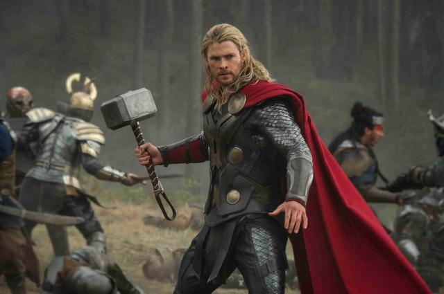 """The God of Thunder is back as Marvel moves forward with """"Phase Two""""."""