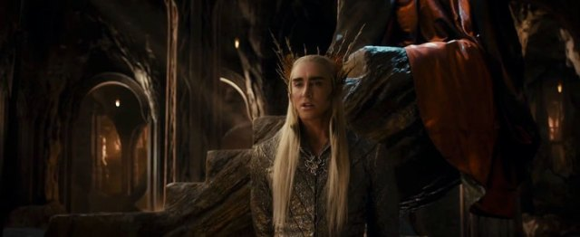 Lee Pace is creepily threatening and effective as Thranduil, given much more to do here.