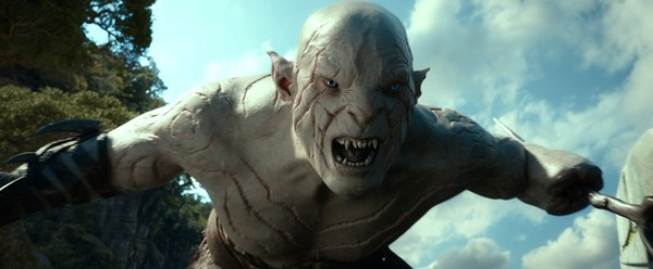Manu Bennett's Azog has less to do in this outing, which is a shame really.