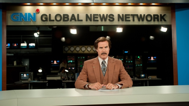 Will Ferrell nails it again as films most famous news reporter.
