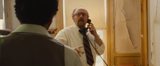 Louis C.K manages to steal the show in just about every scene he's in.