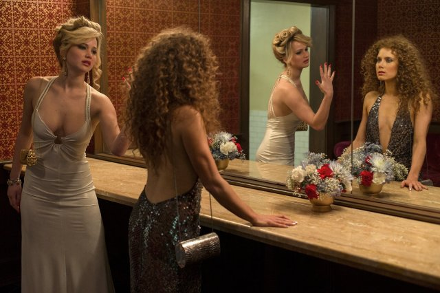 American Hustle features some great female characters, more than just bimbos in loose clothing.