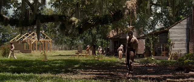 The attempted lynching of Northup leads to 12 Years A Slave's most brilliantly executed visual moment.
