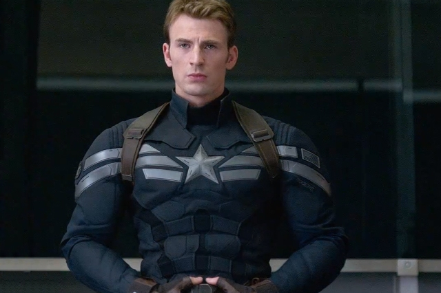 "Marvel's Phase Two rolls on with Chris Evans' return as ""Cap""."