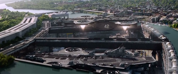 While the CGI is brilliant, its overuse at the conclusion sours The Winter Soldier a little bit.