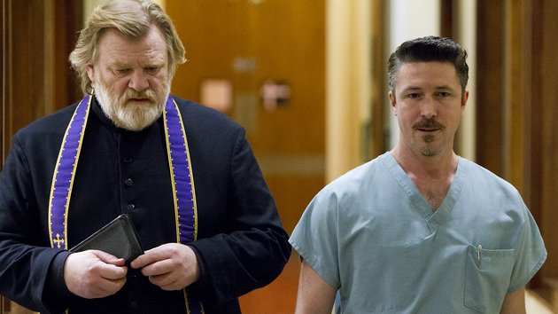 Aidan Gillian's remarkably spiteful doctor is as close as Calvary comes to a real antagonist.