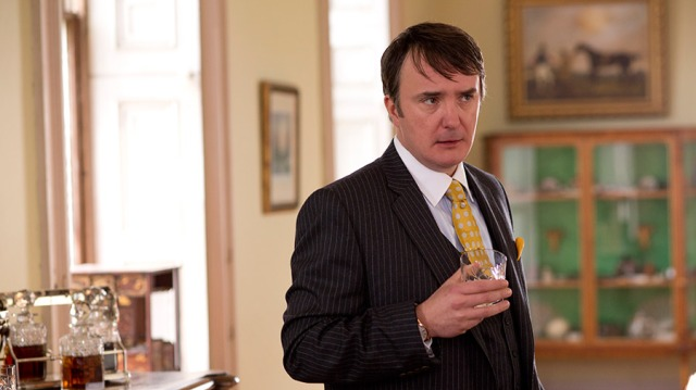 Dylan Moran steals every scene he's in as the modern bogeyman: the soulless banker type.