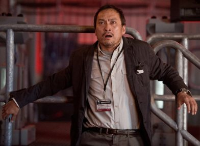 This picture sums up around 90% of Ken Watanabe's time onscreen.