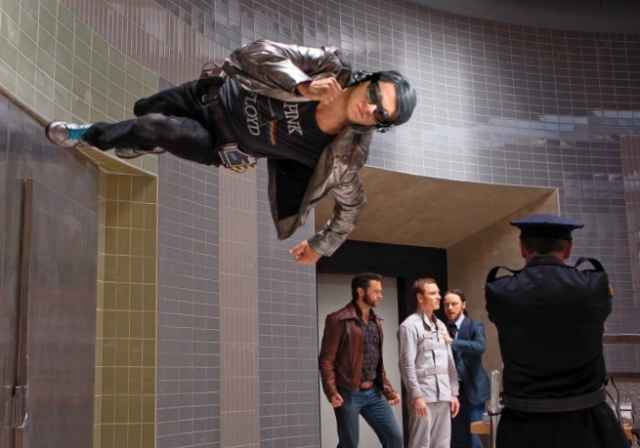 Quicksilver's extended cameo is one of the films high points.