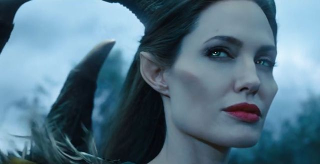 This is the look on Jolie's face for most of the film.