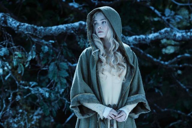 Elle Fanning's Aurora is as brainless and unsympathetic as they come.