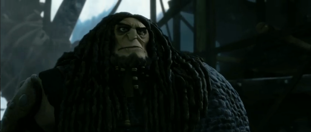 HTTYD2 improves upon its predecessor by actually having a villain, even a bit of a humdrum one.