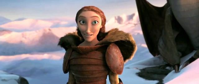 Cate Blanchett adds considerable gravitas as Valka.