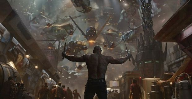 Guardians Of The Galaxy is a visual wonderfest.