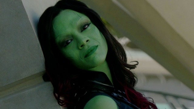 Zoe Saldana's performance will hopefully be another jab at Marvel Studios' male centred way of doing things.