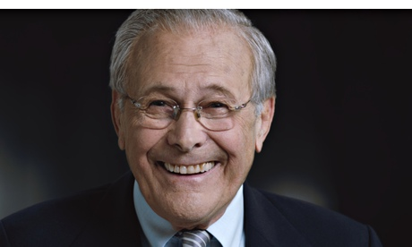 Why is this man smiling? Errol Morris tries to answer that question.