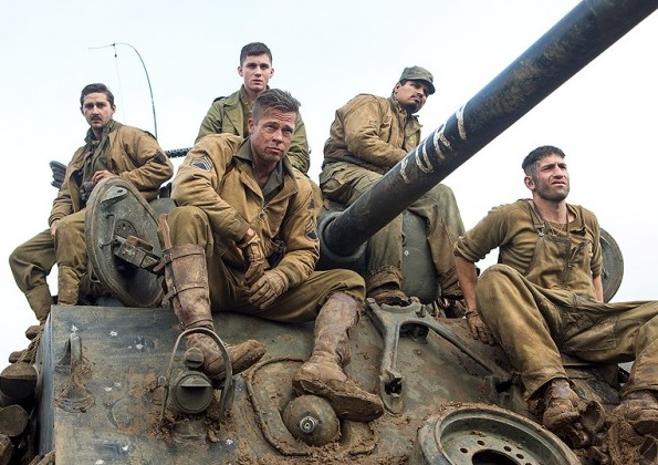 David Ayer brings tank combat to the big screen.