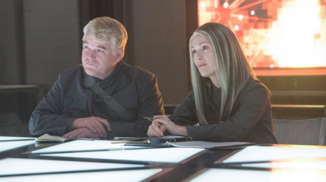 Mockingjay's stellar cast is a huge bonus, especially Hoffman and Moore.