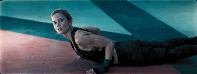 One of the best aspects of the film is Emily Blunt's Rita.
