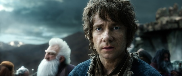 Martin Freeman has been the heart and soul of this trilogy, and that continues.