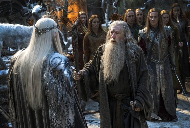 Ian McKellan takes a suitable final bow as Gandalf.