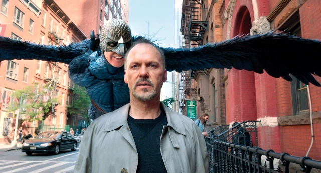 Michael Keaton tries to rise above mediocrity in Birdman.