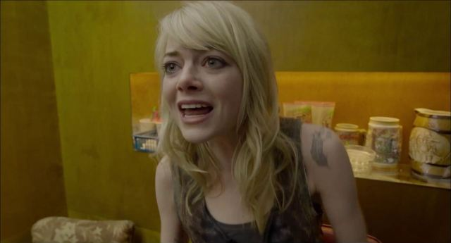 Emma Stone makes the very most out of her time.