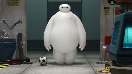 The film is largely saved by the brilliance of the Baymax character.