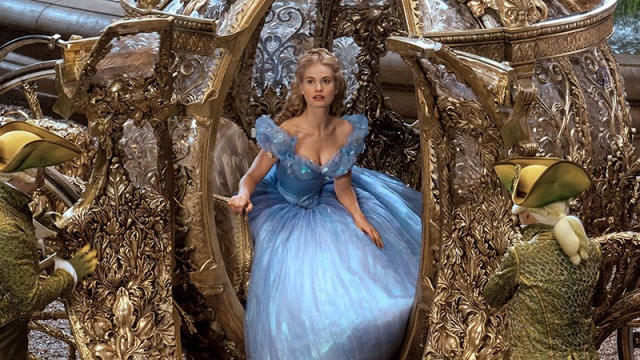 """You shall go to the ball!"" Branagh brings one of Disney's classics into the world of live-action."
