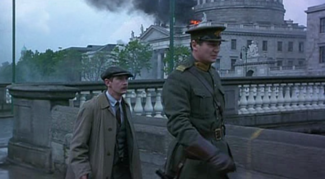 The Battle of Dublin begins: Michael Collins brilliantly recreates the frantic street fighting.