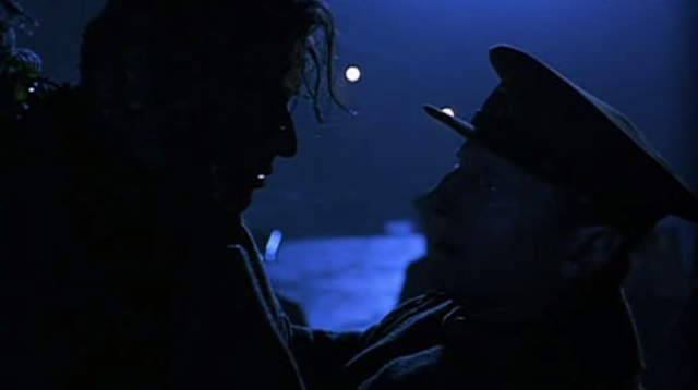 Michael and Harry's last moment together.