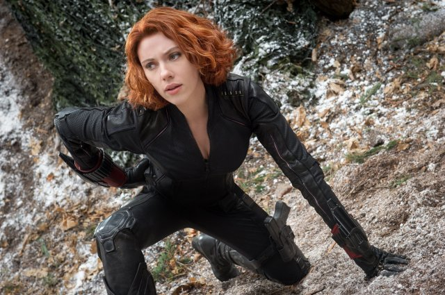 While the character has some problems, Johansson is still a bright spark.