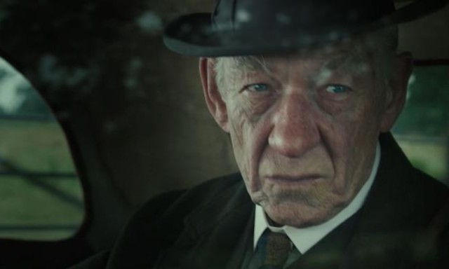 Ian McKellen portrays an elderly version of the famous detective, and plays him well.