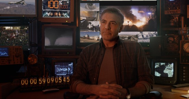 George Clooney adds some much needed gravitas, but he can't save the film from himself.