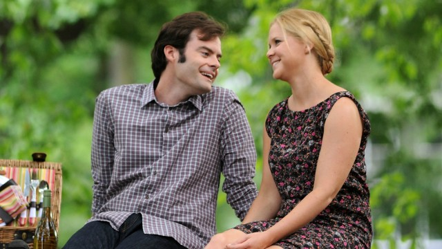 While surrounded by more vulgar stuff, Trainwreck is, at heart, a standard a rom-com.