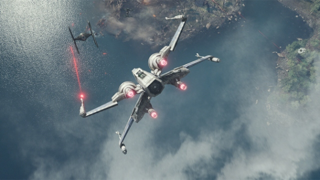 While not quite as enjoyable as previous dogfights, there is still a lot to enjoy with The Force Awakens' X-Wings.